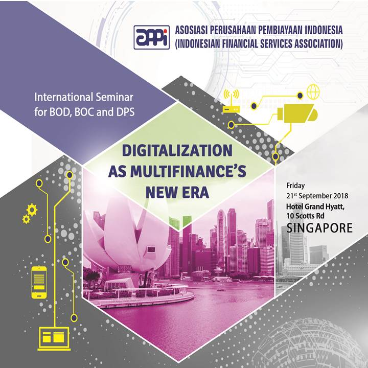 "International Seminar ""Digitalization as Multifinance's New Era"" - Singapore"